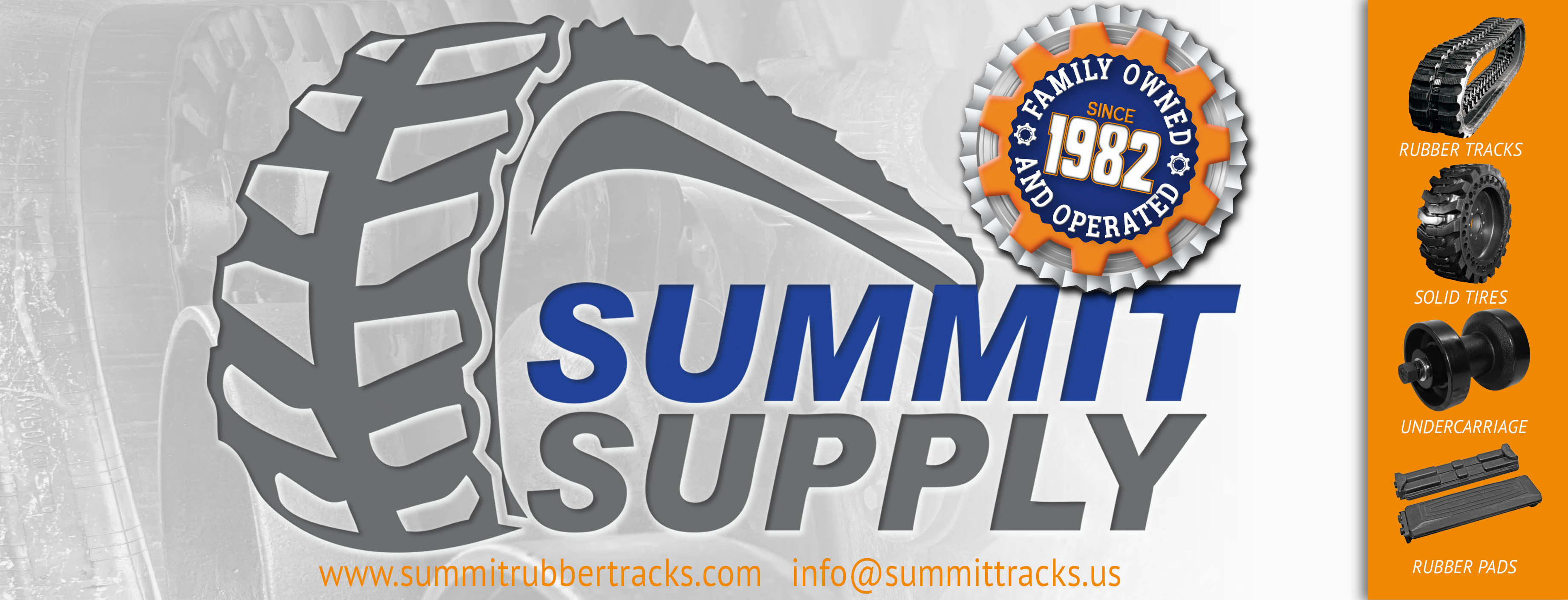 Summit Supply LLC | Quality Rubber Tracks to Fit Your